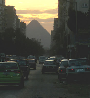 A Street in Giza, Egypt