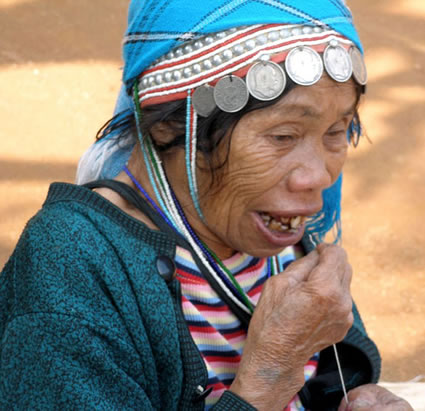 Akha Grandmother