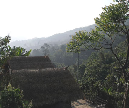 Morning Mist, Akha Hill House