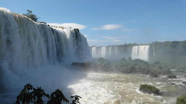 Visit the Iguazu Falls from the Argentinian side