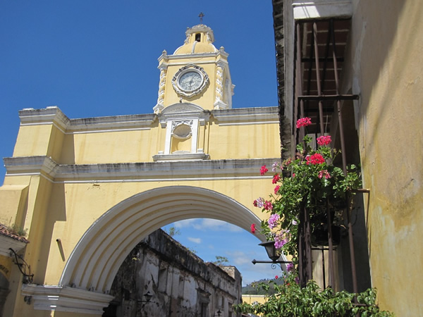 Visit the beautiful town of Antigua, Guatemala