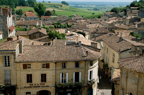 A village in Bordeaux, France