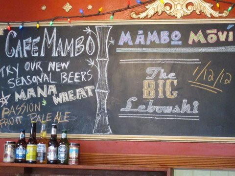 Culinary Tourism at Cafe Mambo in Hawaii