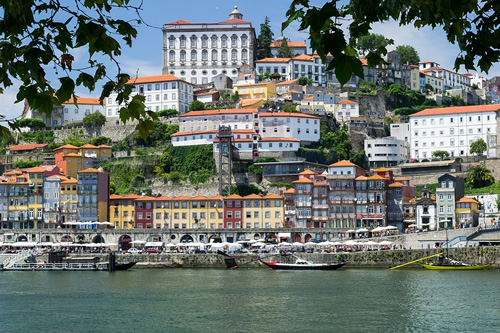The city of Porto in Portugal