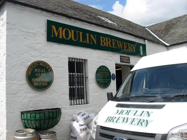 Scotland: Moulin Bewery.
