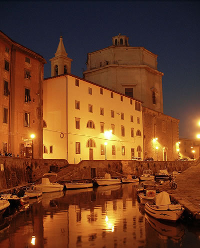 The Battello in Livorno, on the coast of Tuscany