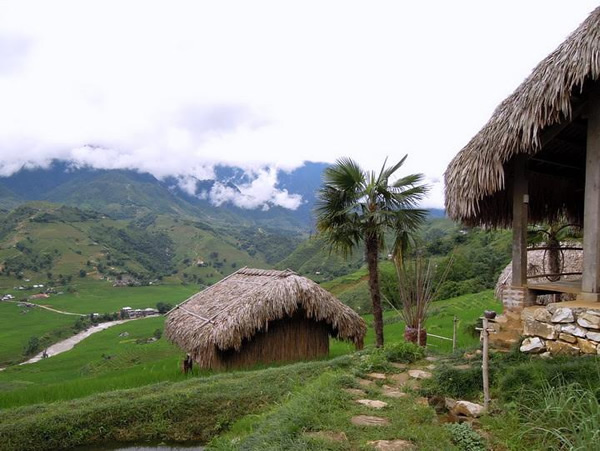 Sapa - H'mong Cooking School location