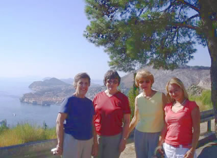 Women in Dubrovnik, Croatia