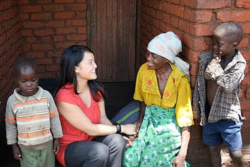 Vi Hoang worked in Central Malawi on a project aimed at improving food security