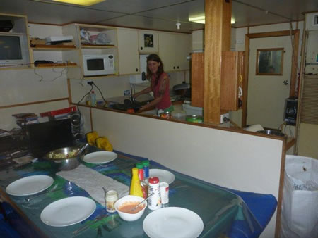View from the Galley.
