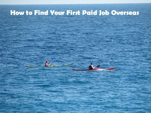 How to Find Paid Jobs Overseas