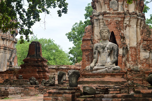 Ayutthaya, just outside the English teaching center Bangkok
