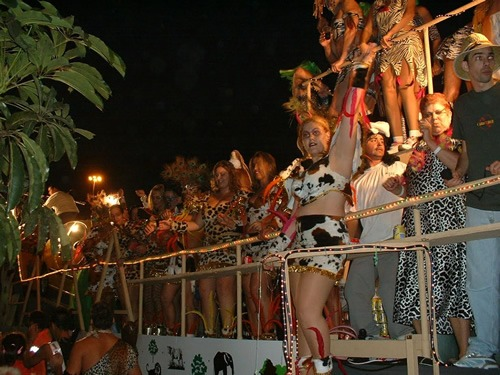 A carnival in the Canary Islands.
