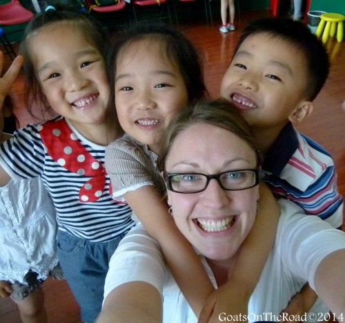 Teaching English to Kindergarten students