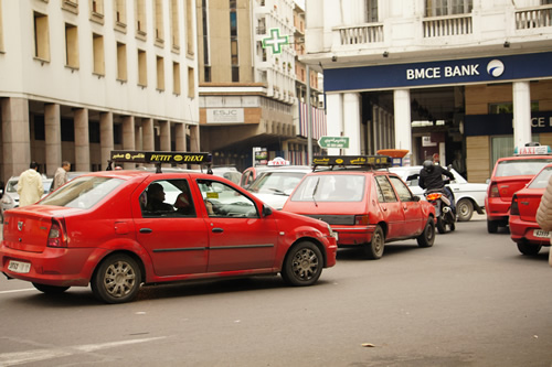 Taxis in Moroccan towns can be expensive