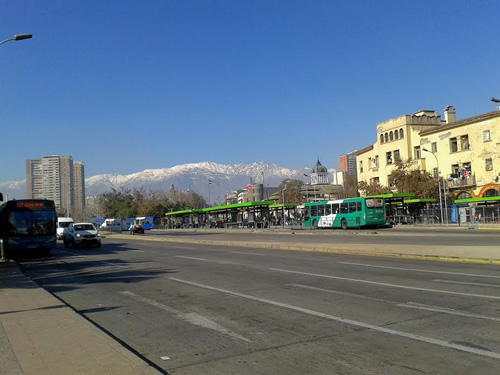 Andes and Santiago, Chile