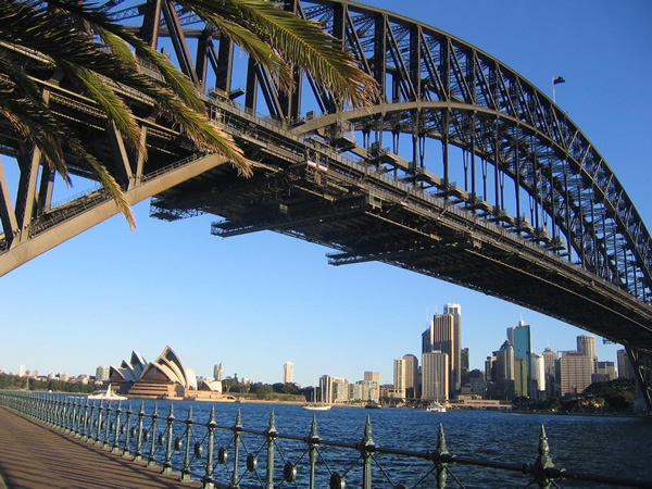 Would you like to work near the Sydney Bridge and Opera House