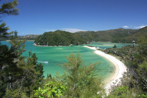 Abel Tasman National Park in New Zeakand