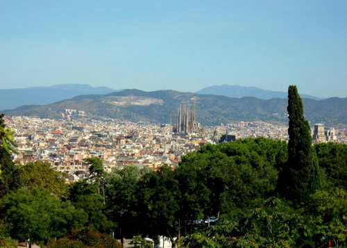 A view of Barcelona while working as an au pair
