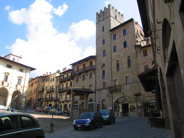 Working in Tuscany - Arezzo