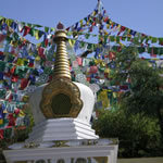 Prayer flags in Lhasa