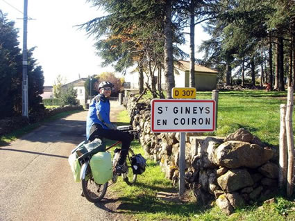 Arriving a small French village for our first volunteer experience with WWOOF.