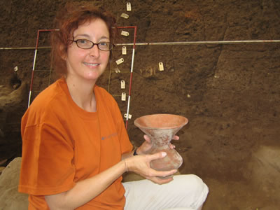 Pot found in Thailand during Archeological dig.