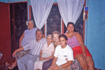 Home stay with my family in Costa Rica
