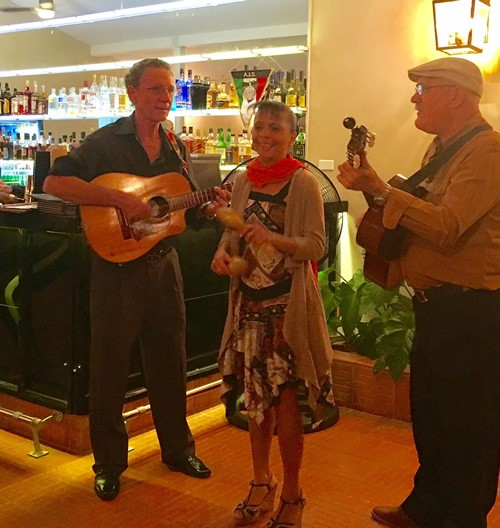 Dinner in Miramar with great musical entertainment in Havana, Cuba