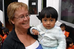 Volunteer at day-care in Ecuador