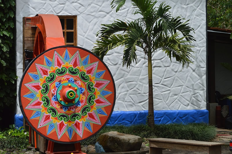 Folk art in Costa Rica