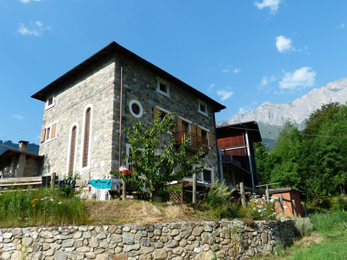 A homestay in Italy