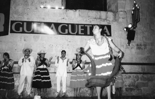 Retirement in Mexico:  Watching folklore dancing in Oaxaca.