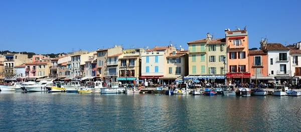 Port of Cassis in Provence, France
