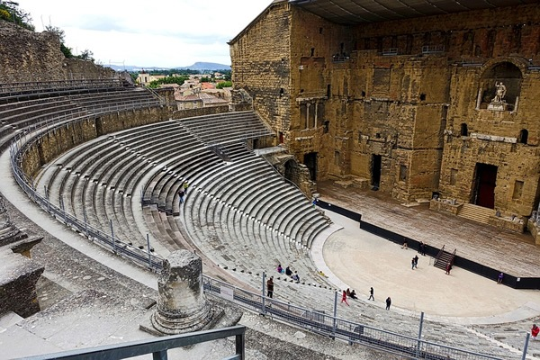 Check out the great Roman Theatre in Orange