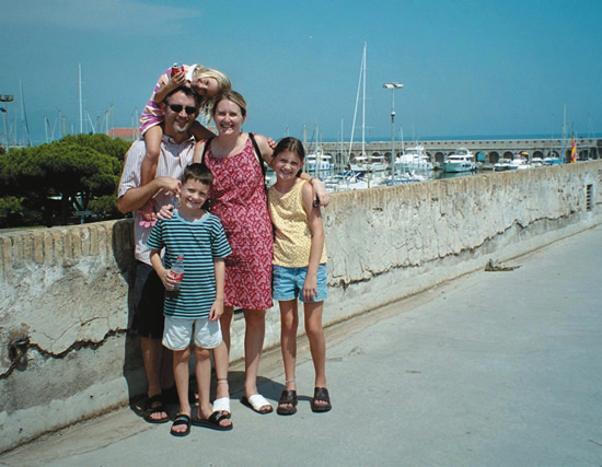 DeMuth Family in Antibes, France