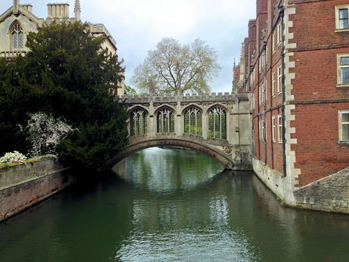 Bridge in Cambridge, England