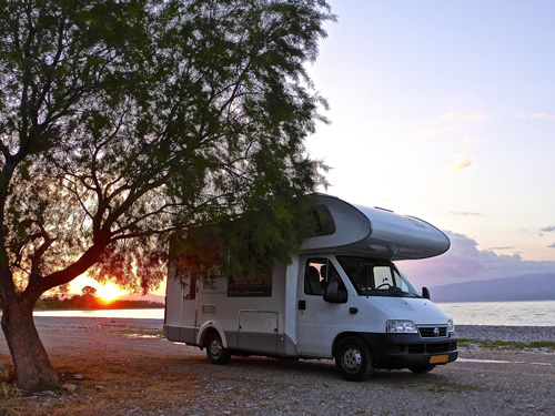 Motorhoming in Europe allows freedom