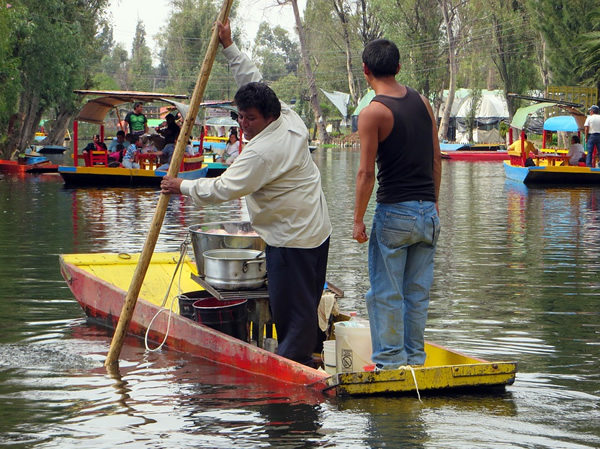 Xochimilco Floating Gardens in Mexico City maintain local jobs