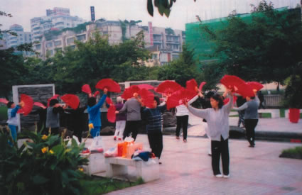 Chinese Fans and Tai Chi