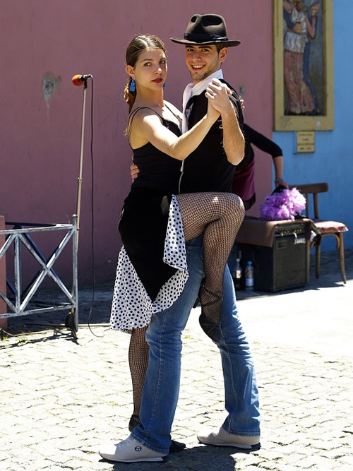 Tango dancing in Buenos Aires is a unique performance art