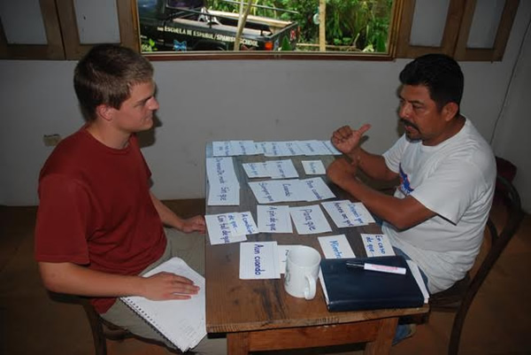 Lean Spanish One-on-One in Mariposa, Nicaragua