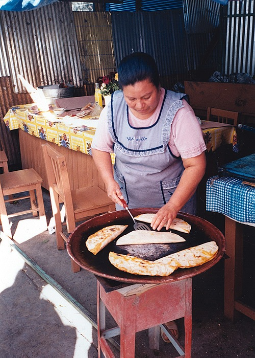 Cooking in Oaxaca, Mexico