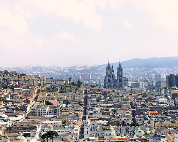Quito, Ecuador is a great place to study