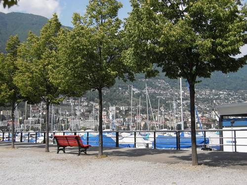 A port in Ticino, Switzerland