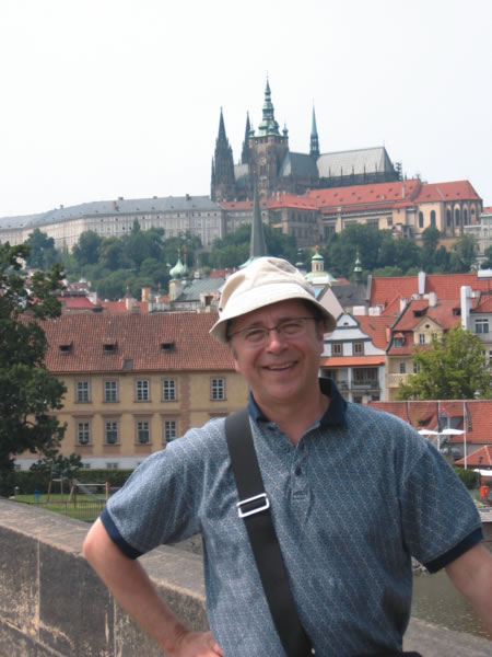 Author of Living and Working Overseas, Jean-Marc Hachey in Prague