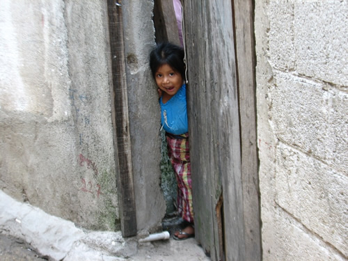 Girl in Guatemala