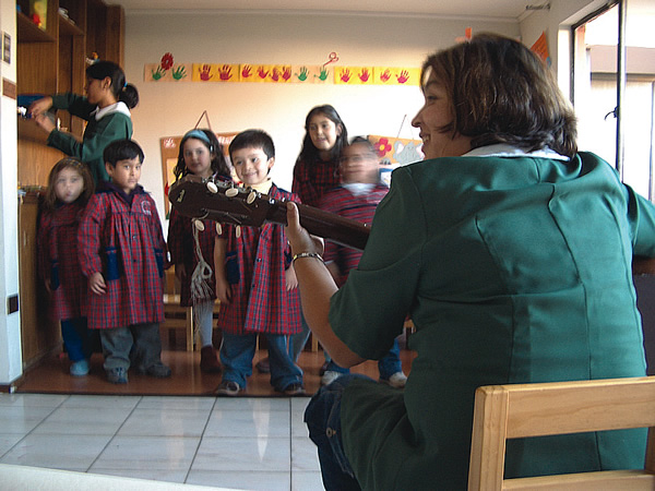 Teaching English to Children in Chile