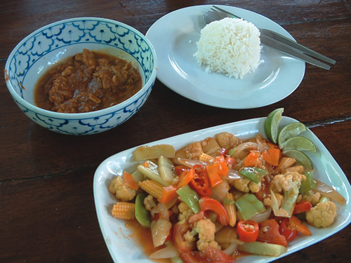 Sweet and sour Chicken, Thai style
