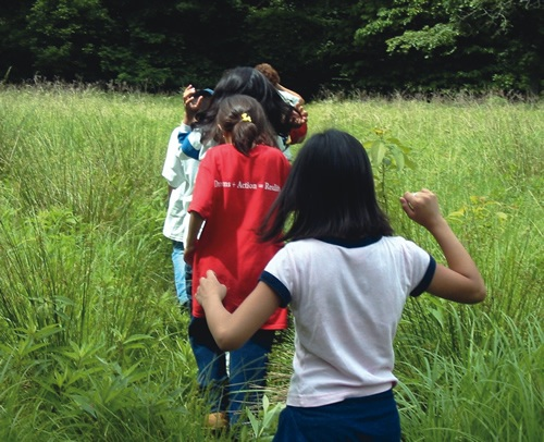 Summer jobs leading nature treks